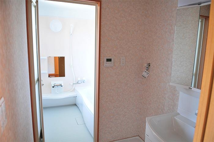 完成物件 バスルーム