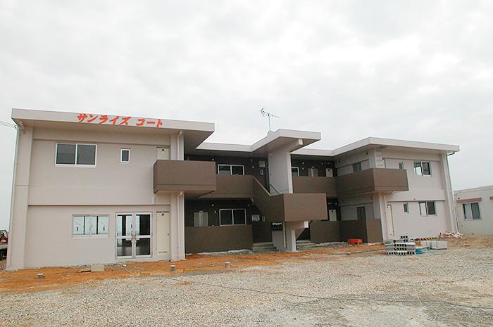 名護市アパート建築実績