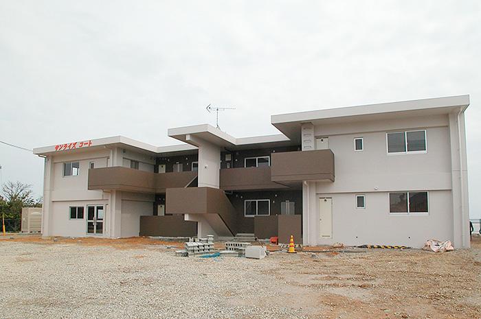 名護市のアパート 建築実績