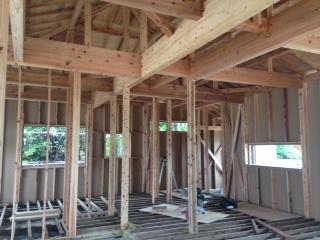 木造住宅骨組み1