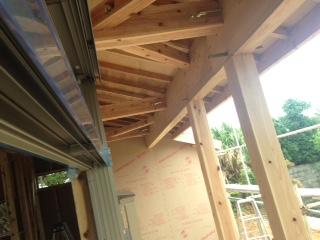 木造住宅骨組み2