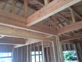 木造住宅骨組み3