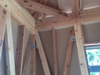 木造住宅骨組み5