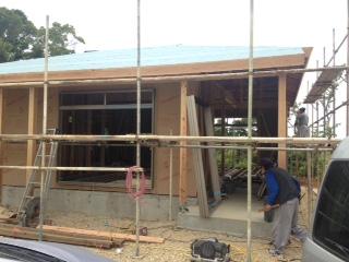 木造住宅骨組み8