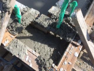 コンクリート打設4
