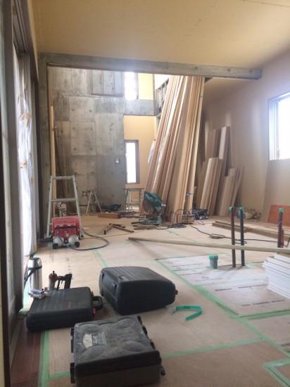 Y邸新築工事4